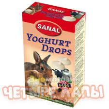 Sanal <b>Лакомство для грызунов Санал</b> Йогуртовые дропсы и ...