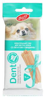 <b>Лакомство для собак Titbit</b> DENT со вкусом говядины для мелких ...