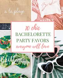 Chic <b>Bachelorette Party Favors</b> that Everyone Will Love ...