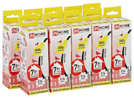 Упаковка <b>светодиодных</b> ламп 10 шт In Home <b>Led</b>-<b>свеча</b>-deco ...