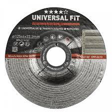 <b>Круг шлифовальный</b> универсальный Universal Fit <b>125</b> x 6 x 22,2 мм