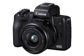 Беззеркальный <b>фотоаппарат Canon EOS M50</b> Kit с EF-M 15 ...