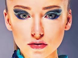 80 39 s style blue eye make up a rage this season fashion and trends hindustan times