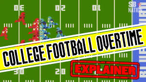 college football overtime explained college football overtime explained