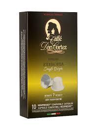 <b>Капсулы</b> Nespresso <b>Don Cortez</b> Ethiopia CARRARO 8039161 в ...