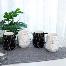 <b>Polygonal Ceramic</b> Glaze <b>Mug Creative</b> Office <b>Coffee</b> Breakfast <b>Cup</b> ...