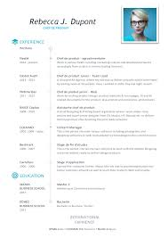 product manager resume template modern cv upcvup
