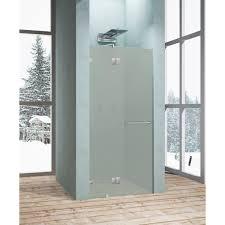 <b>Душевая дверь</b> «Классика матовая» распашная <b>100x195 см</b> в ...