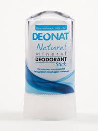 Дезодорант <b>Кристалл</b> без добавок, стик, 60 гр. Deonat 8809514 в ...