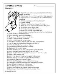christmas writing ideas ÂÂ  chestnut esl eflchristmas writing prompts  source  specialed about com