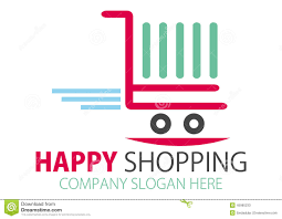 super store company logo design royalty stock photo image shopping station logo design stock photos