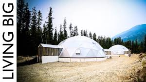 Off-<b>Grid</b> Tiny House Paradise With Geodesic Dome Greenhouse ...