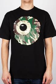 <b>Футболка МИШКА</b> Camo Keep Watch T-Shirt (Black, S) | alasse.ru
