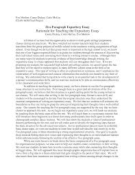 expository essays example example expository essays template