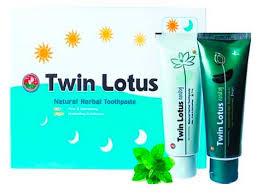 <b>Набор</b> зубных паст с травами день и ночь <b>Twin Lotus</b> Natural ...