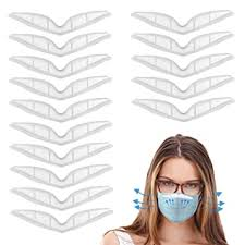 <b>Anti Fog Nose</b> Bridge <b>Strip</b> for <b>Face</b> Mask, 20 Pcs Silicone Mas-k ...