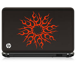 sun wall decal trendy designs: this amazing sun laptop decal is bright vibrant and will suit almost any models and colors preferably it is to applied at the centre of the laptop
