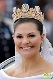 Image result for 瑞典女太子(crown princess)維多利亞