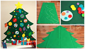 Children's <b>Felt Christmas Tree</b> – That's What {Che} Said...