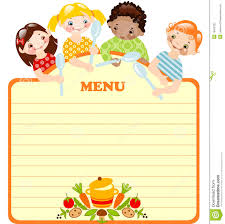 blank kids menu template invitation templates designsearch blank kids menu template invitation templates designsearch results for blank kids menu template