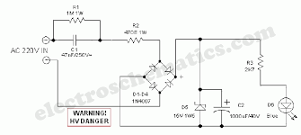 <b>LED Night Lamp</b> Circuit