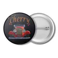 Заказать значок <b>КРУТЫЕ ТАЧКИ</b>. <b>CHERRY</b> #2759636 за 36 руб ...