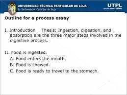 chronological order process essays