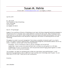cover letter example human  tomorrowworld cosamples director of marketing brand your career marketing cover letter   cover letter
