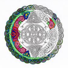 booktopia the ancient alchemy coloring book celtic buddhist take a look inside