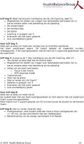 life coaching professional pdf evalueren van het coach gesprek live voorbeeld en geven voor lcp dag 7