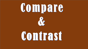 difference between compare and contrast compare vs contrast difference between compare and contrast compare vs contrast
