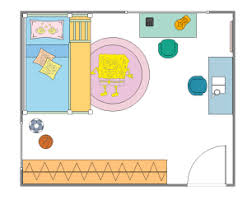 free kids room plan templates for word  powerpoint  pdfedraw kids room plan template