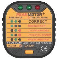 <b>Тестер напряжения</b> PM6860DR прибор отличается ...