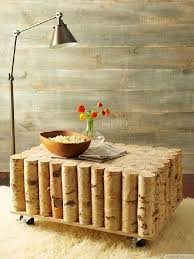 organic birch tree trunks table for rustic decor httpbestpickr awesome tree trunk table 1