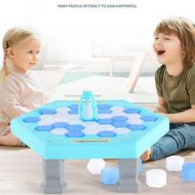 Пингвин ловушка <b>Break</b> Ice <b>настольная игра</b> родитель-ребенок ...