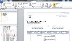 dynamics gp land adding fields to word templates 65279now you can add the field to the template as needed easy huh the downside is that you do need to know report writer in order to modify the underlying