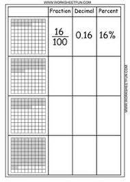 Free Multiplication Worksheets For  rd Grade Convert To Decimal  Convert Fractions