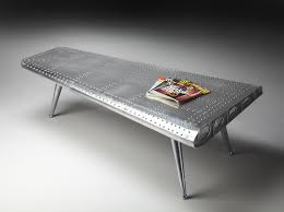 airplane wing coffee table aviation themed furniture