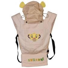 <b>Рюкзак</b>-<b>кенгуру Polini Disney</b> baby Король Лев с вышивкой ...