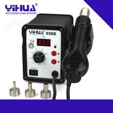 110 В/220 В <b>YIHUA 858D</b> горячего воздуха SMD <b>паяльная</b> ...