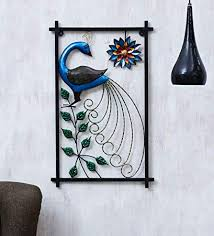 Buy Collectible India Metal Peacock Multicolored <b>Sunflower</b> Frame ...