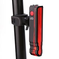 <b>Folding Laser</b> LED <b>Bike</b> Light Front Rear Safety Warning <b>Bicycle</b> ...