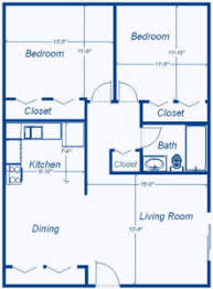 House Plans Under Sq Ft        Home Plan Design      Square Feet House Plans   roselawnapts comfloor plans