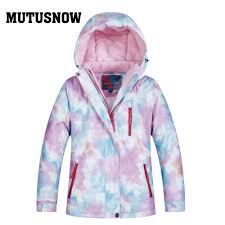 2019 New <b>Ski Jacket</b> Ski Pants <b>Women</b> Windproof Waterproof Warm ...