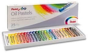 Купить <b>Pentel Пастель масляная</b> Arts 25 цветов (PHN4-25) по ...