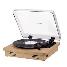 <b>Record Player</b> Vintage <b>Vinyl Record Turntable Player</b> with BT,<b>LP</b> 3 ...