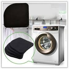 4 pIECES <b>EVA</b> Washing Machine Shock Mat Pads Refrigerator ...