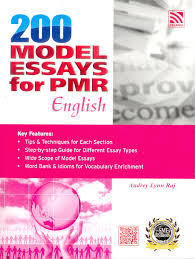 model essays for pmr english
