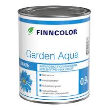 <b>Finncolor Garden</b> Aqua / <b>Финнколор Гарден</b> Аква <b>акриловая эмаль</b> ...