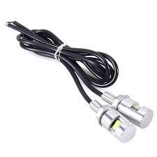 <b>2PCS</b> White Light Motorcycle Screw 5630LED Bolt Lamp <b>Car</b> ...